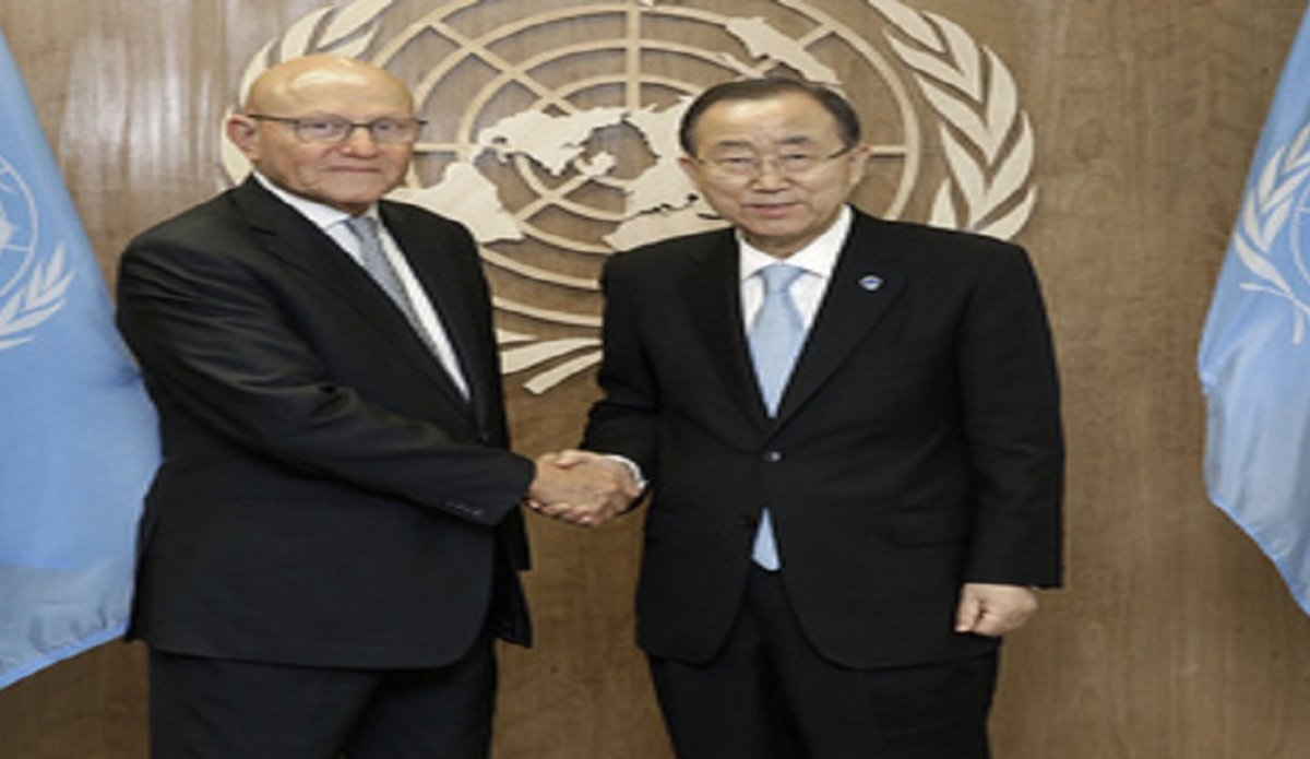 Secretary-General Meets Prime Minister of Lebanon