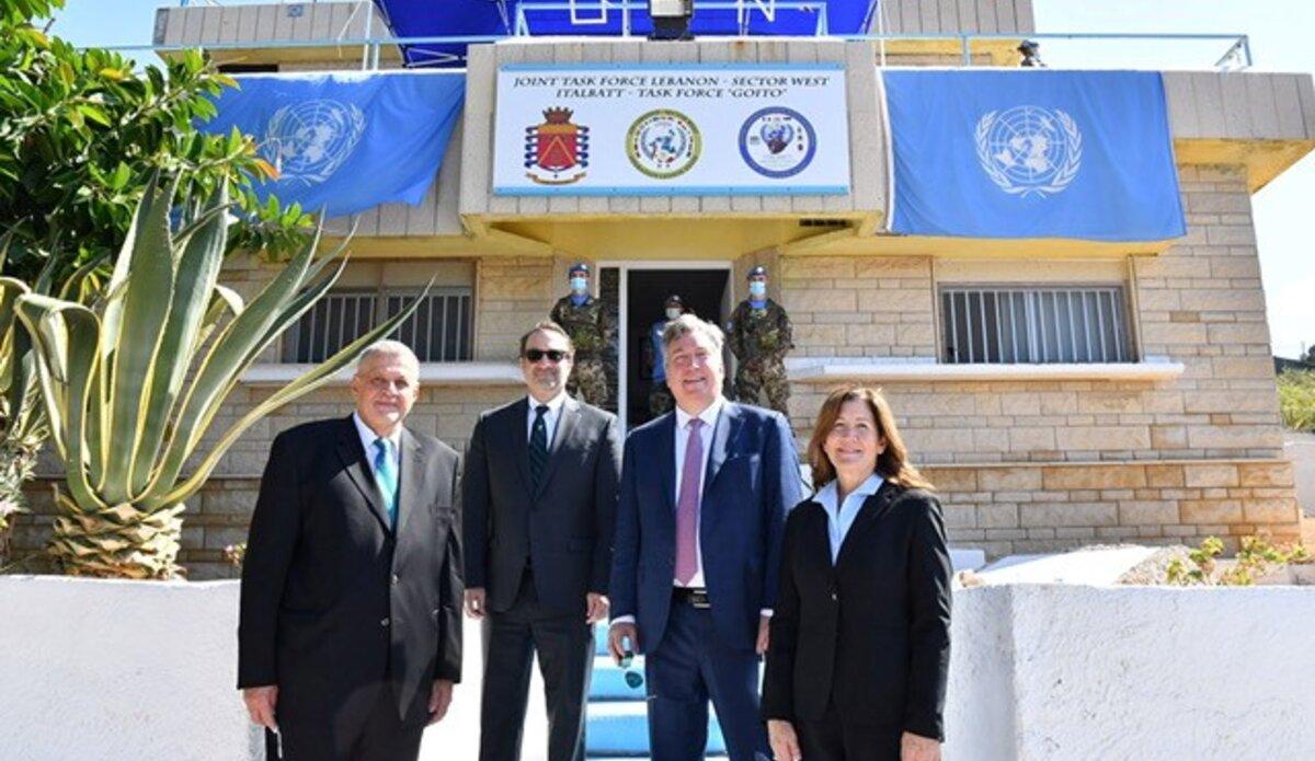 UN Special Coordinator for Lebanon Ján Kubiš, US Assistant Secretary David Schenker, Ambassador John Desrocher, Ambassador Dorothy Shea