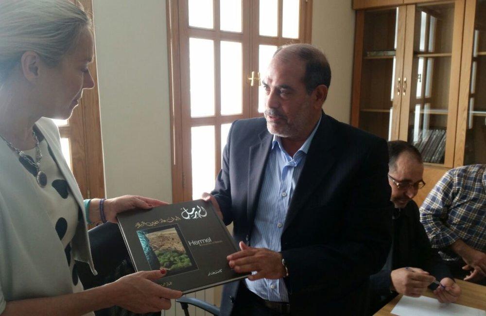 SCL Sigrid Kaag Visits Hermel