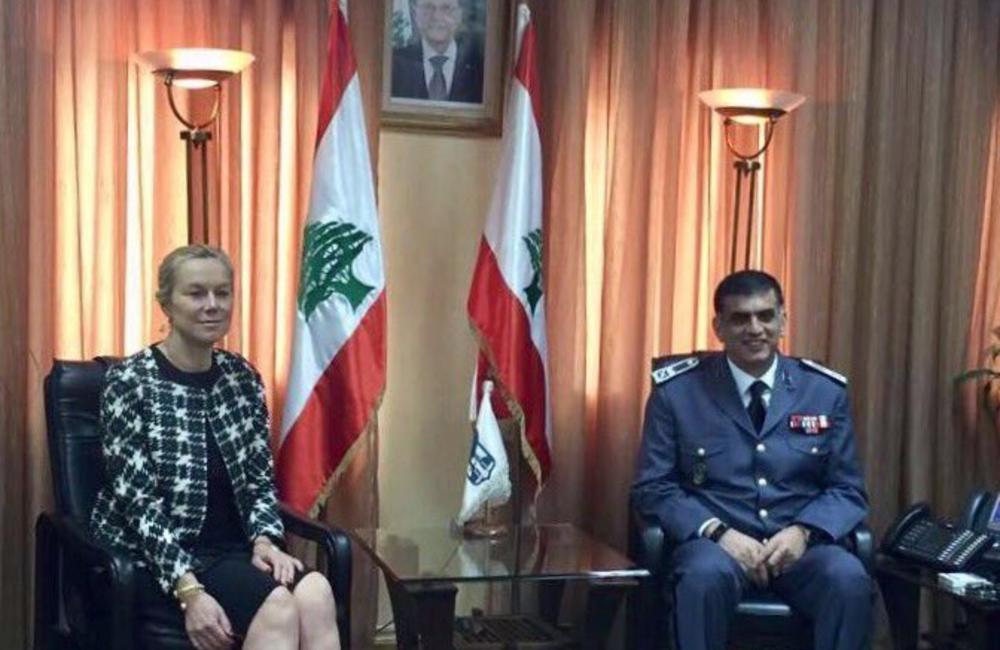 UN Special Coordinator Sigrid Kaag meets ISF Maj. Gen. Othman (23 03 17)