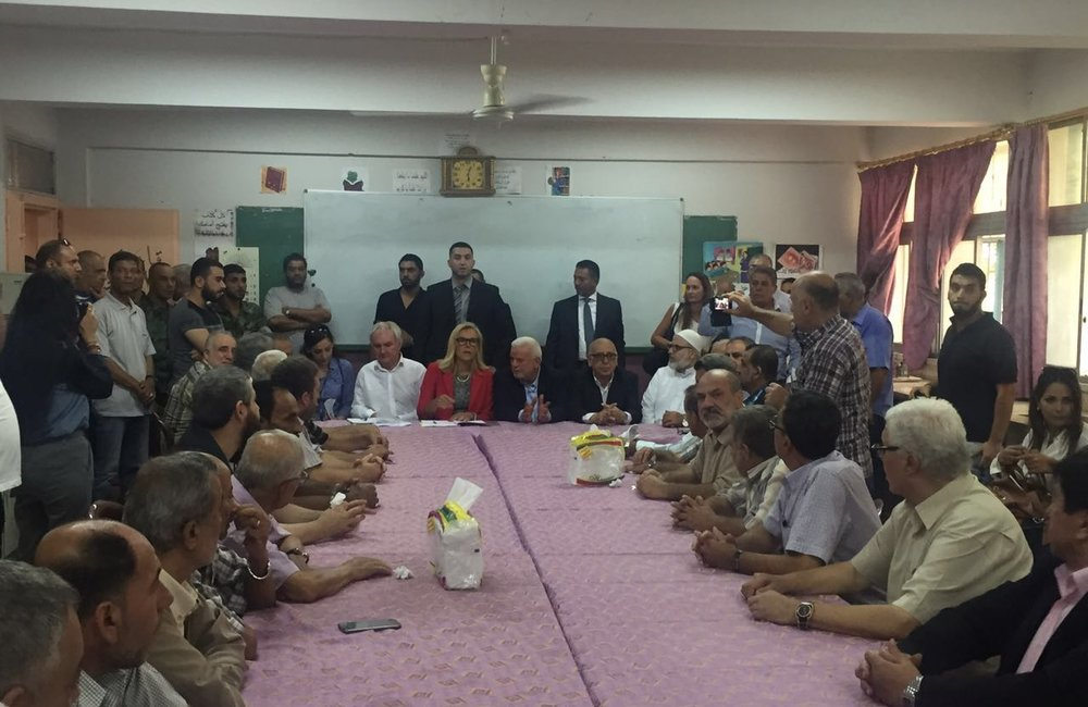 SCL Kaag meets popular committees at Ein El-Hilweh