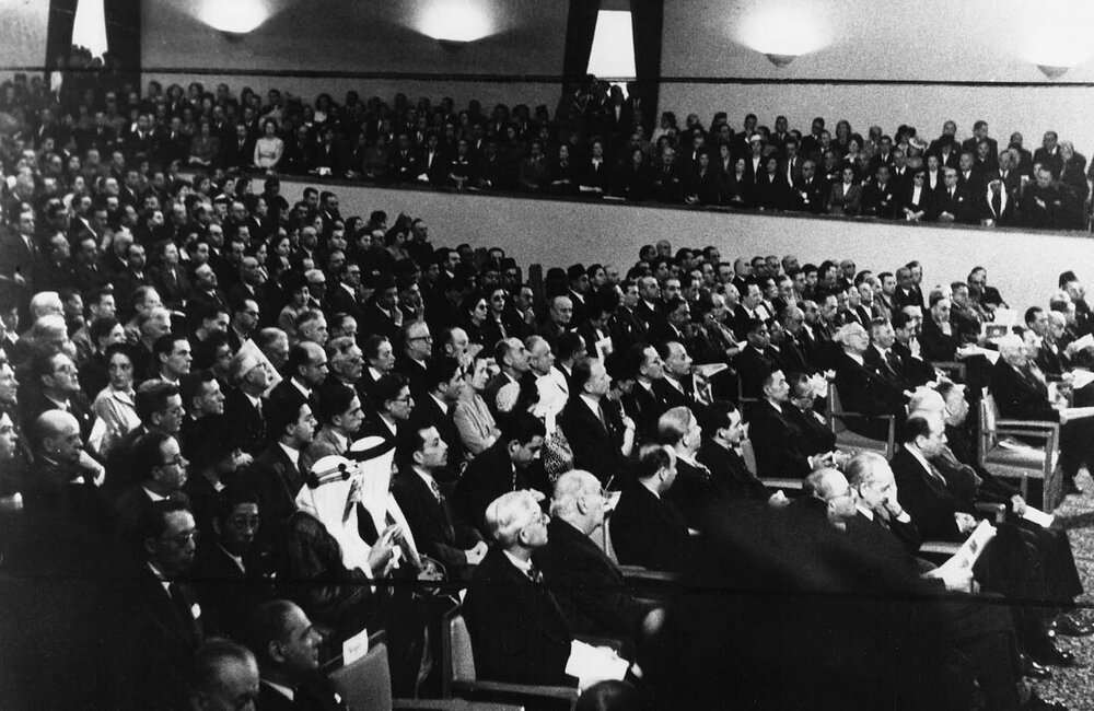 Inauguration of UNESCO Palace in Beirut (1948)