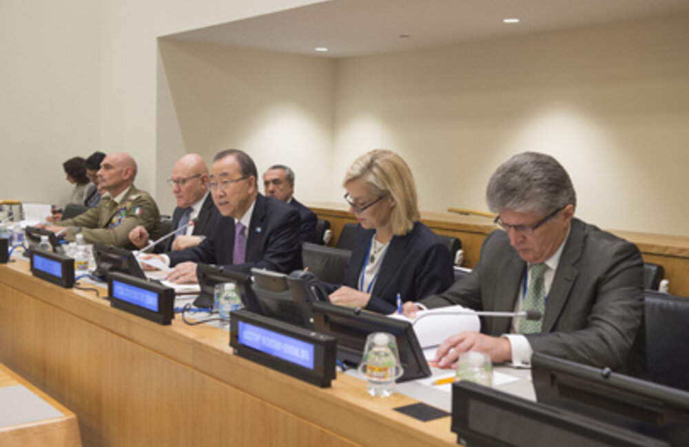 Ministerial meeting of the International Support Group for Lebanon at UNHQ (September 2015)