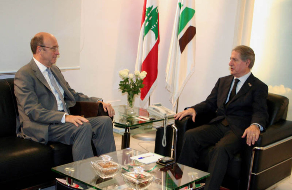 SCL Plumbly Meets former President Amine Gemayel (24 10 12) - Photo dalatinohra