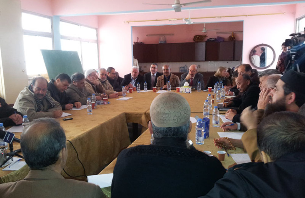 SCL Plumbly Meets Security and Popular Committees in Ain El-Hilweh (31 01 13)