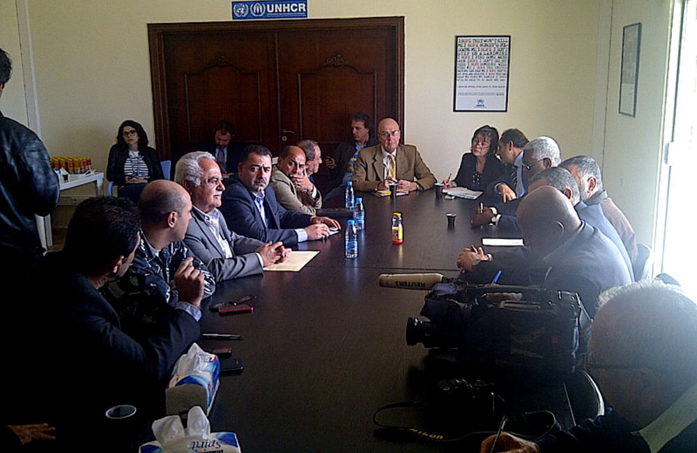 SCL Plumbly, UNHCR and NGOs discuss refugee needs in south Lebanon (09 04 13)