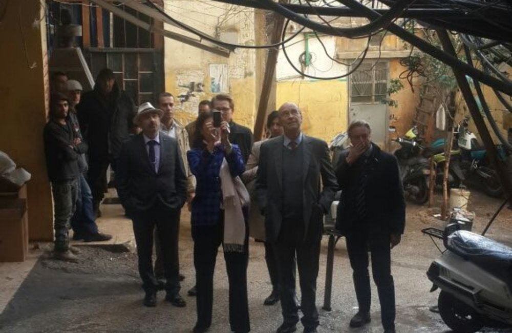 Former SCL Plumbly in Burj Barajneh camp (27-11-2014)