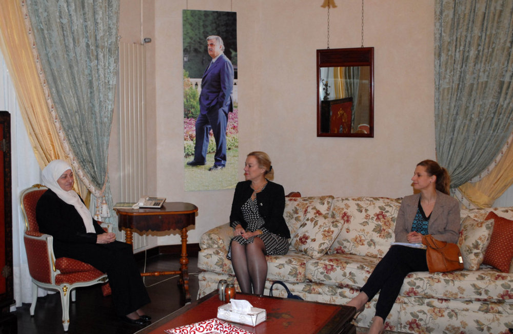 Special Coordinator for Lebanon Sigrid Kaag meets PM Bahia Hariri  (29-01-2015)