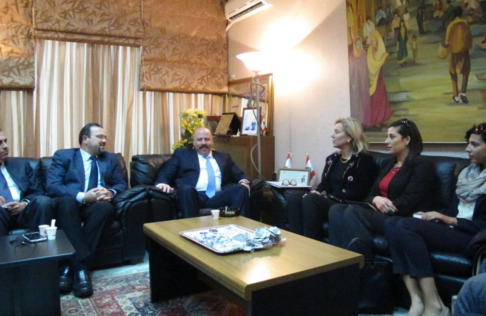 SCL Kaag meets the Governor of the north and Mayor of Tripoli (03-02-2015)