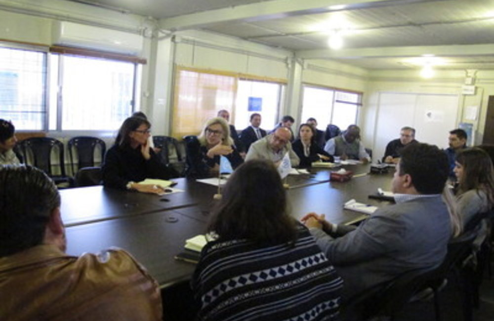 SCL Sigrid Kaag meets UN team in Tripoli (03-02-2015)