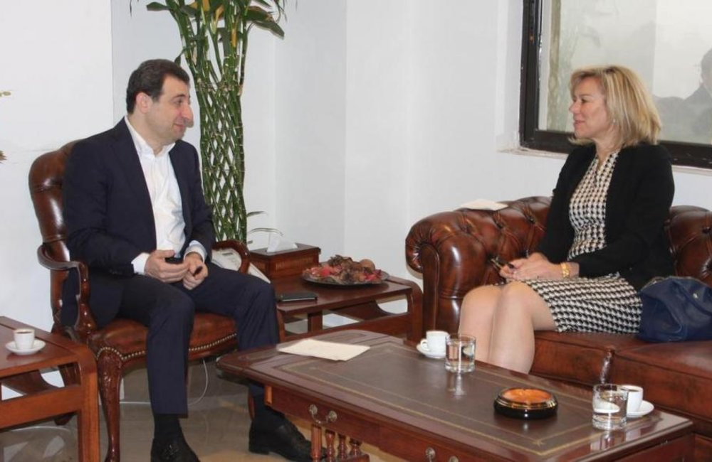 SCL Sigrid Kaag meets with Minister of Public Health, Wael Abu Faour(11 02 15)