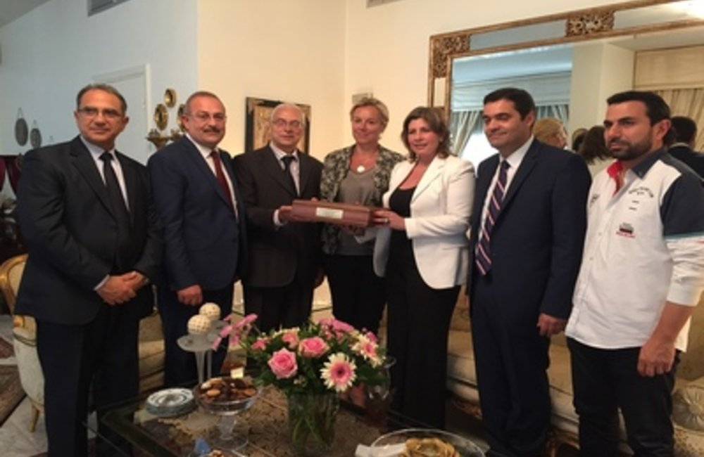 UN Special Coordinator for Lebanon Sigrid Kaag in Tripoli imp role of civil society (12 05 2015)