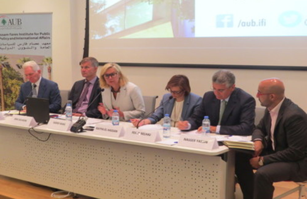"IFI- UN Panel Discussion on ""Challenges to Financing Middle-Income Countries Facing Crises"" (11 06 2015)"