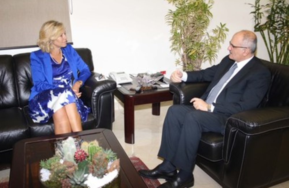 SCL Sigrid Kaag meets Minister Ali Hassan Khalil (15 07 2015)- Dalatinohra.net