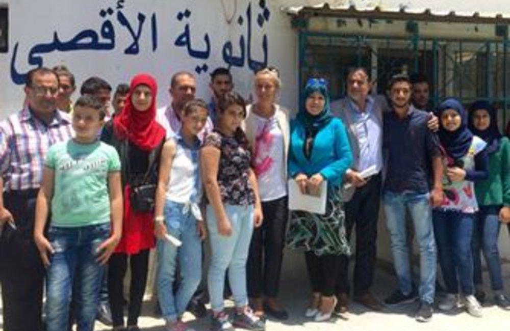 Visit to Rashidieh (21 06 2016)