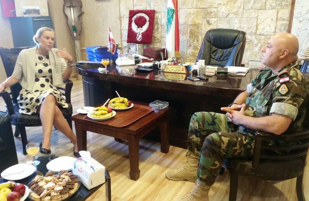 SCL Sigrid Kaag Visits LAF in Labweh