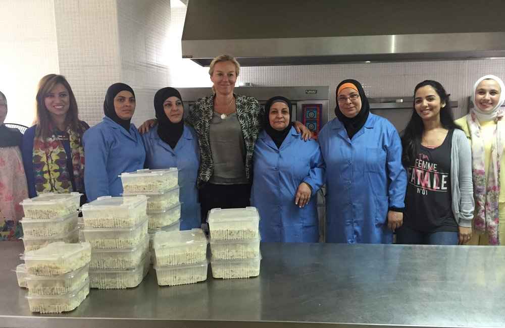 SCL Kaag visits Tripoli women's center (12 05 15)