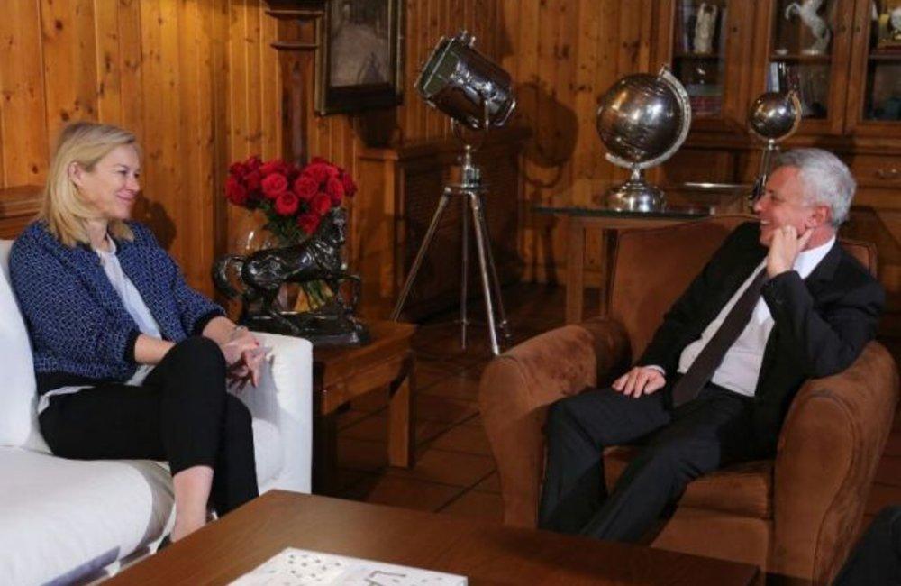 Special Coordinator Sigrid Kaag meets MP Suleiman Franjieh in Zgharta, north Lebanon