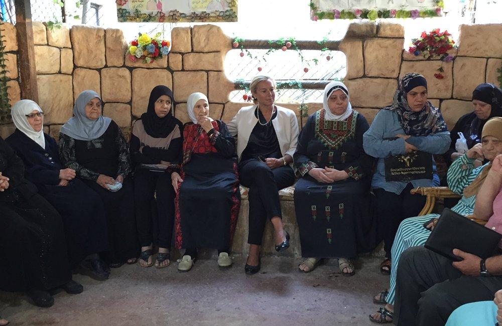 SCL Kaag visits Aging House in Burj El-Barajneh (22 06 15)
