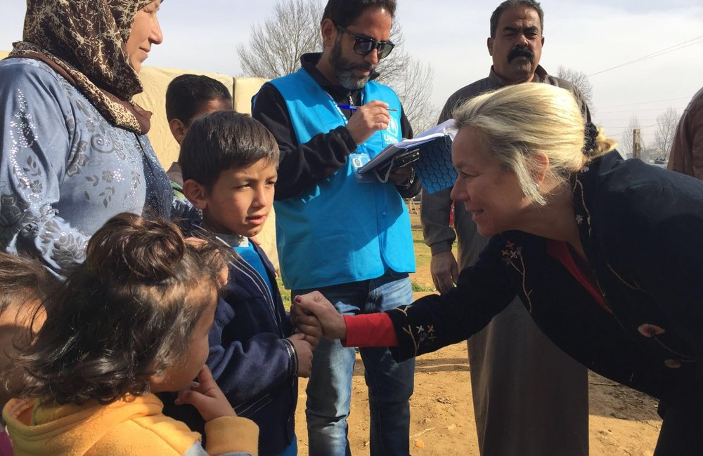 SCL Kaag meets Syrian refugees in Qab Elias (01 02 16)