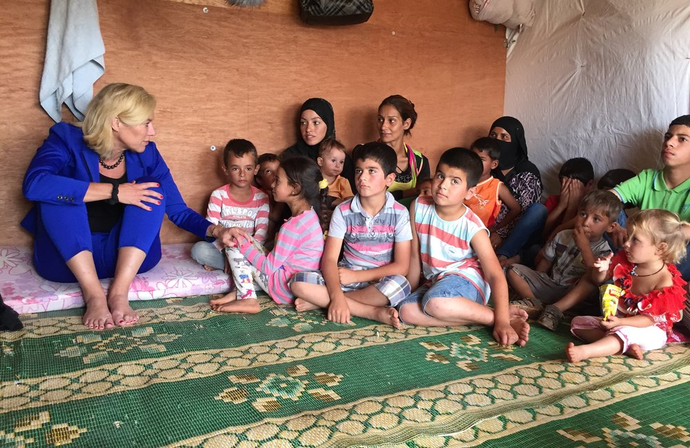 SCL Kaag visits refugees in Akkar (10 15)