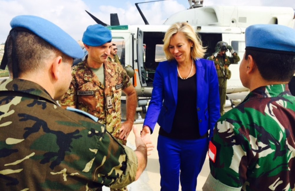 SCL Kaag visits UNIFIL in Marjayoun, south Lebanon (26 06 15)