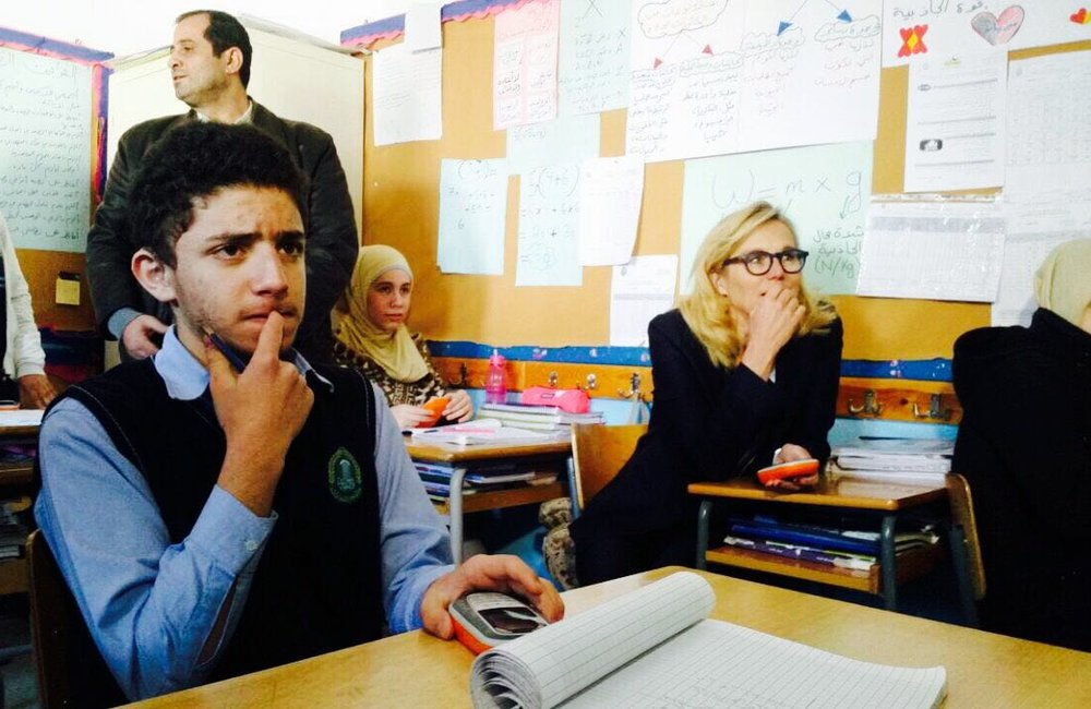 Special Coordinator Kaag at Al-Hadi institution for students with Special needs