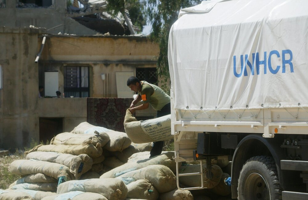 UNHCR humanitarian assistance during July 2006 War