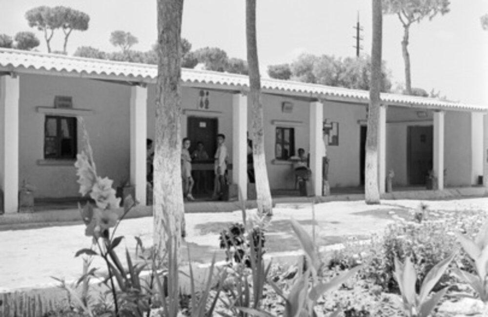 UNRWA-UNESCO school for Palestinian refugees in Lebanon (1953)