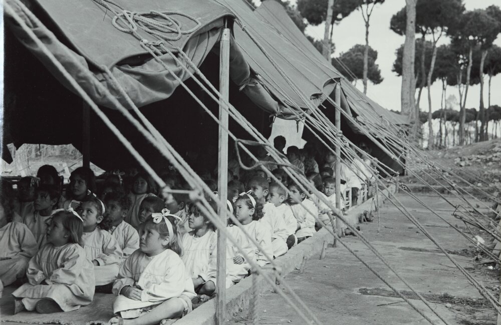 UNRWA school for Palestinian refugees in Lebanon (1949)