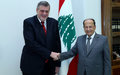 UN Special Coordinator for Lebanon Ján Kubiš Remarks after Meeting President Michel Aoun