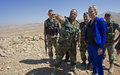 UN Special Coordinator Sigrid Kaag Visits Arsal and Army Positions
