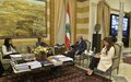 Acting UN Special Coordinator Pernille Dahler Kardel Meets Minister of Interior and Municipalities Nohad Machnouk