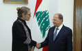 United Nations Special Coordinator Meets Lebanon Leaders