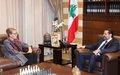Remarks of Acting UN Special Coordinator Pernille Dahler Kardel after Meeting Prime Minister-designate Saad Hariri