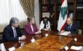 United Nations Assistant Secretary-General for Political Affairs Miroslav Jenča completes visit to Lebanon