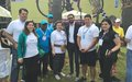 UN team takes part in Biking Day in Tripoli
