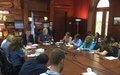 UN Special Coordinator Sigrid Kaag and Deputy Special Coordinator Philippe Lazzarini Meet the Press