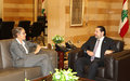Acting UN Special Coordinator Pernille Dahler Kardel Meets Prime Minister Saad Hariri