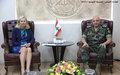 UN Special Coordinator Meets Lebanon Army Commander
