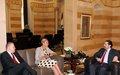 UN Special Coordinator Sigrid Kaag meets Prime Minister Saad Hariri
