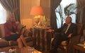 Special Coordinator Sigrid Kaag meets officials in Cairo