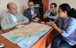 SCL Plumbly Discusses with UNHCR Situation of Syrian Refugees in the Bekaa (September 2012)