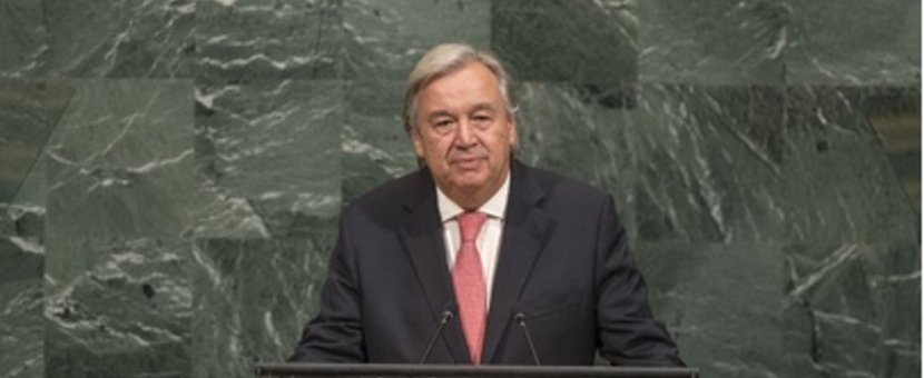 UN Secretary-General Antonio Guterres Address to the opening of the 72nd General Assembly Session General Debate